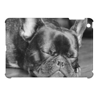 Sleeping French Bulldog iPad Mini Cases