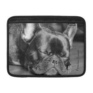 Sleeping French Bulldog MacBook Air Sleeve