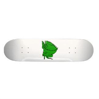 Sleeping Green Dragon Skateboard