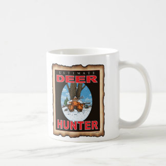 SLEEPING GUN HUNTER COFFEE MUG