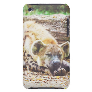 Sleeping Hyena Photograph iPod Touch Cover