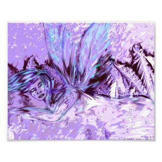 sleeping ice fairy photograph