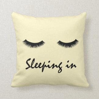 """Sleeping In"" Pillow"