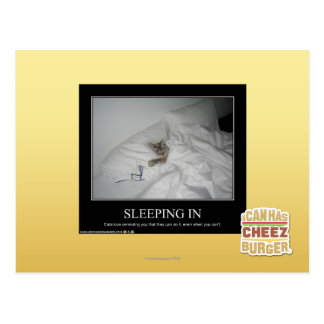 Sleeping In Postcard