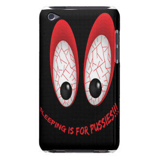 sleeping is for pussies iPod touch covers