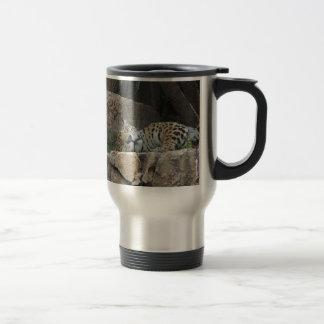 sleeping jaguar.jpg stainless steel travel mug