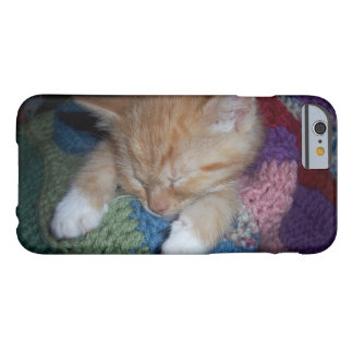 Sleeping Kitten Barely There iPhone 6 Case