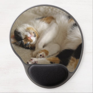 Sleeping Kitty Gel Mousepad Gel Mouse Mat