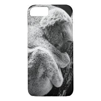 Sleeping koala bear phone protection case