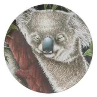 Sleeping Koala Plate