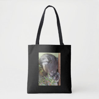 SLEEPING KOALA TOTE BAG