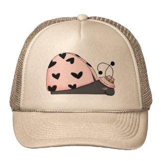 Sleeping Lady Bug Cap