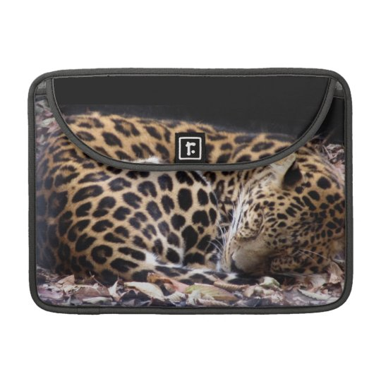 "Sleeping Leopard MacBook Pro 13"" Flap Sleeve MacBook Pro Sleeve"