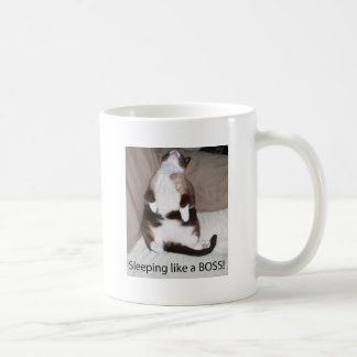 Sleeping like a Boss! Coffee Mug
