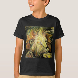 Sleeping Lion Oil Painting Shirts