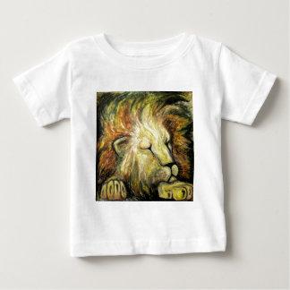 Sleeping Lion Oil Painting T Shirt