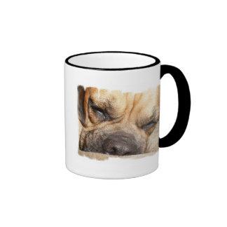 Sleeping Mastiff  Coffee Mug