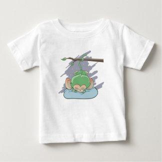 Sleeping Monkey Baby T-Shirt