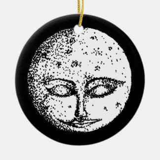Sleeping Moon Ornament