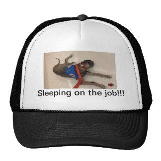 Sleeping on the job cap