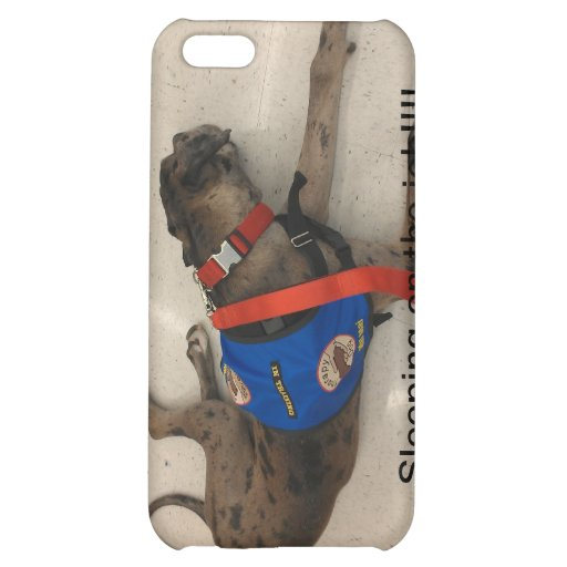 Sleeping on the job cover for iPhone 5C