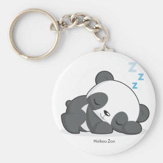 Sleeping Panda Keychain