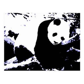 Sleeping Panda Postcard
