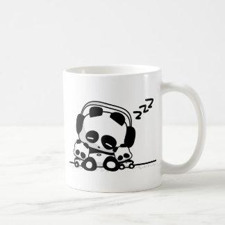 Sleeping Pandas Basic White Mug