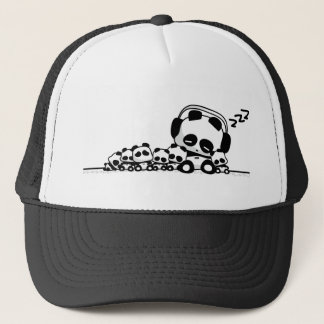 Sleeping Pandas Trucker Hat