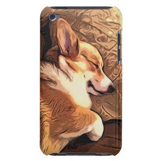 Sleeping Pembroke Welsh Corgi dog iPod Touch Cases