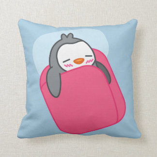 Sleeping Penguin Cute Finguin Pillow