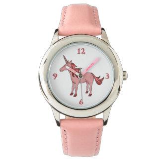 Sleeping Pretty Pink Unicorn Watch