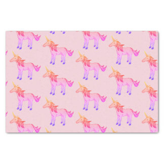 Sleeping Pretty Rainbow Unicorn Tissue Paper