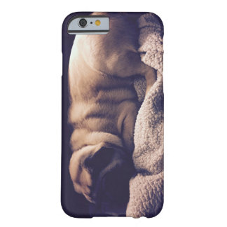 Sleeping Pug Cell Phone Case