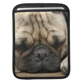 Sleeping Pug iPad Sleeve