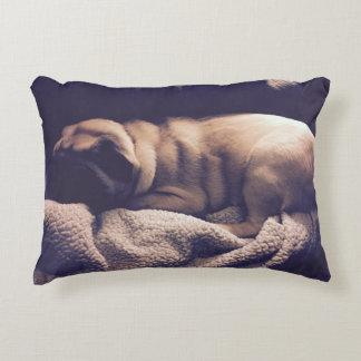 Sleeping Pug Pillow