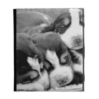 Sleeping Puppies iPad Folio Case