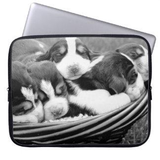 Sleeping Puppies Laptop Sleeve