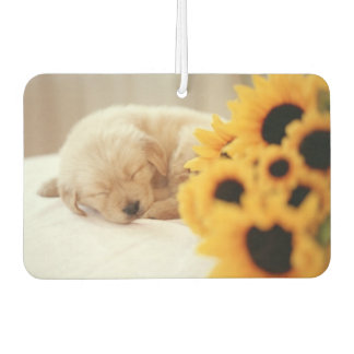 Sleeping Puppy Air Freshner Car Air Freshener