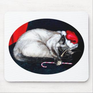 Sleeping Santa Claws Mouse Mat