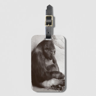 Sleeping Silverback Luggage Tag