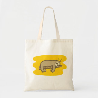 Sleeping sloth budget Tote bag