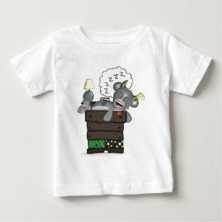 Sleeping Sock Drawer Monster Digital Art Baby T-Shirt