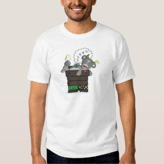 Sleeping Sock Drawer Monster Digital Art Tee Shirts
