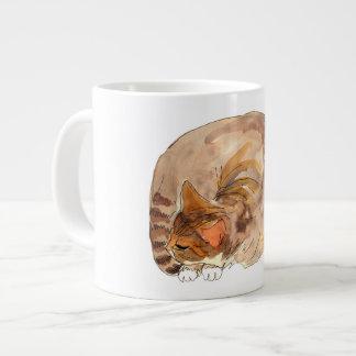 Sleeping Tabby Mug
