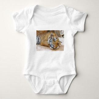 Sleeping Tiger Baby Bodysuit