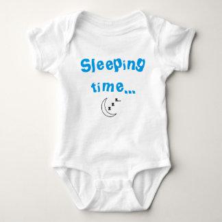 Sleeping time Baby Bodysuit