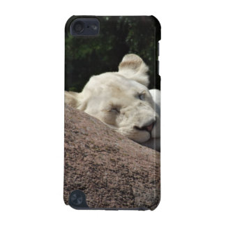 Sleeping White Lioness iPod Touch 5G Covers