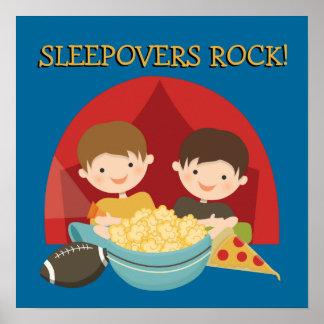 Sleepovers Rock Posters