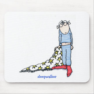 Sleepwalker by Susan McGraw Keber Mouse Mat
